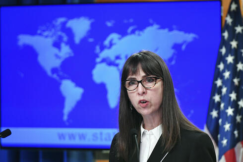 U.S. Assistant Secretary Lisa Peterson of the Bureau of Democracy, Human Rights, and Labor, speaks about the release of the '2020 Country Reports on Human Rights Practices,' at the State Department in Washington, March 30, 2021