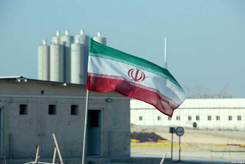 The Bushehr nuclear plant in Iran in December 2020