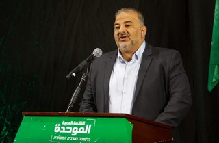 Ra'am Chairman Mansour Abbas addresses the nation in a rare televised prime time press conference