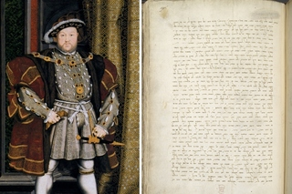 King Henry VIII and a letter from Italian Rabbi Jacob Raphael