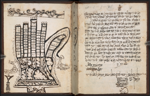A 700 year old bible exhibited at the British Library
