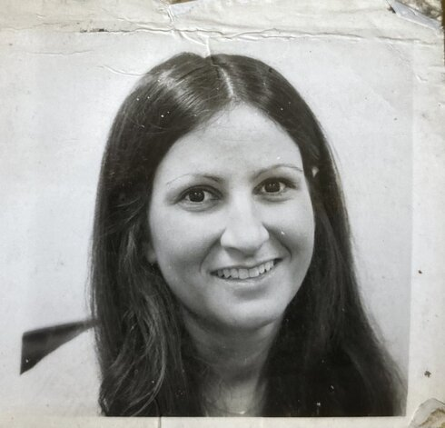 Sharon Cohen smiles in this picture taken sometime in her late 20s