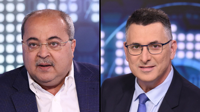 Neither Ahmad Tibi's Joint List nor Gideon Saar's New Hope recommended a candidate for prime minister