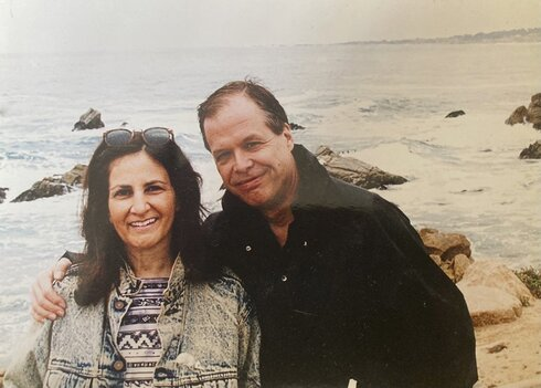 Sharon Cohen and her partner Mike Robinson