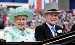 The Queen and Prince Philip in 2012