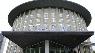 Organisation for the Prohibition of Chemical Weapons (OPCW) headquarters, The Hague, Netherlands