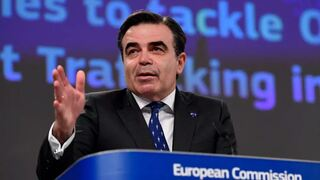 European Commission Vice-President for Promoting our European Way of Life Margaritis Schinas
