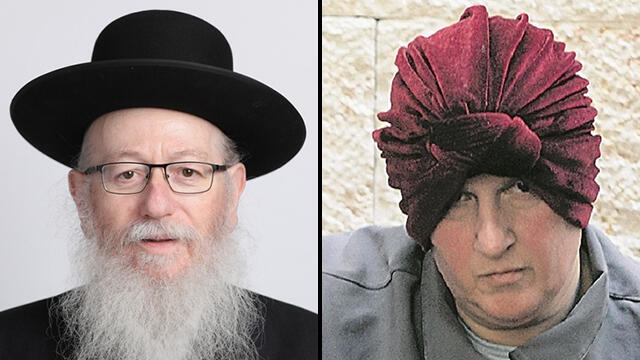 Construction Minister Yakkov Litzman and Malka Leifer