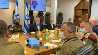 Prime Minister Benjamin Netanyahu convenes the security cabinet following rocket fire from Gaza and clashes in Jerusalem