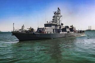 the USS Firebolt in Manama, Bahrain