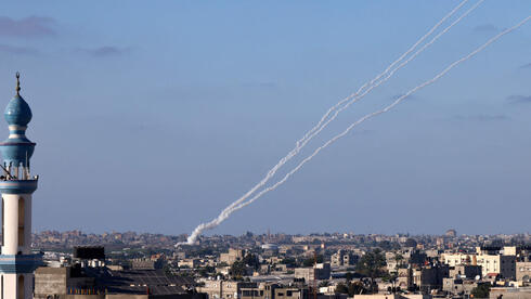 Rockets launched from Gaza at Israeli communities on Saturday