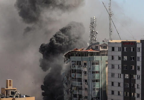 Israel destroys a 12-story tower block in Gaza housing the offices of the U.S.-based Associated Press and other news media
