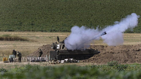 IDF artillery troops on the Gaza border, May 18, 2021