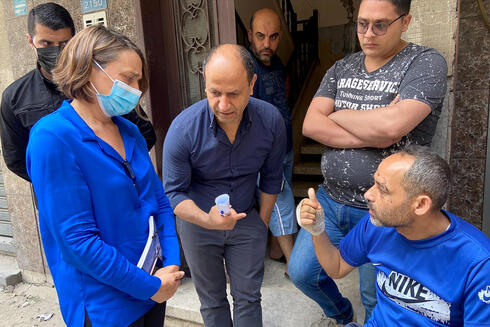 Lynn Hastings, the Head of the humanitarian operations in the Occupied Palestinian Territory, visits Gaza City