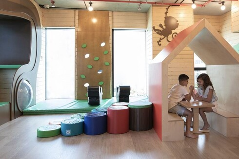 Gymboree facilities for Park Bavli's young residents