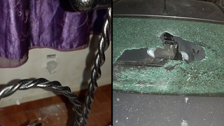 Extensive property damage following attack on Ynet's Arab affairs reporter Hassan Shaalan home in Tayibe