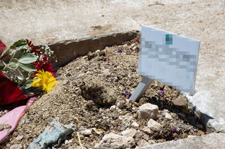 The grave of the IDF intelligence officer that died in prison