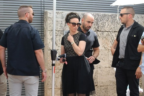 Yamina MK Idit Silman has round-the-clock protection after she and her family received threats from opponents to the nascent government (Photo: Shaul Golan)