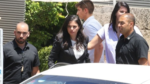 Ayelet Shaked received a security detail due to threats made against her after joining the new coalition (Photo: Shaul Golan)