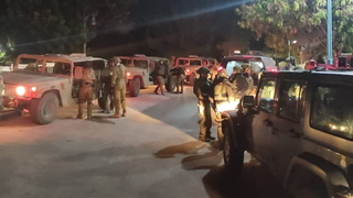 IDF troops hunting for infiltrators from Lebanon on Sunday night