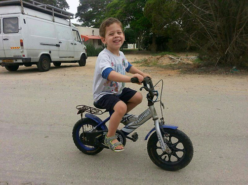4-year-old Daniel Tregerman was killed in a mortar strike from Gaza on his home at Kibbutz Nahal Oz in the 2014 war