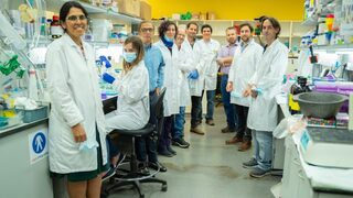 Researchers working on a Covid-19 vaccine at MigVax