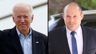 U.S. President Joe Biden and Prime Minister Naftali Bennett are reportedly due to meet next month
