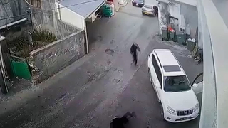 The shooting of a resident of Arraba on Wednesday was captured by security cameras