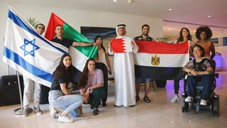 Young influencers from the Arab world meet with Israeli counterparts in a visit organized by the Israel-Is organization