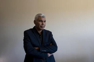 MK Saeed Alkhrumi a Bedouin member of the Islamist Ra'am party