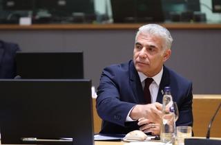 Foreign Minister Yair Lapid at the EU Foreign Affairs Council on Monday