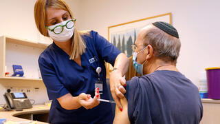 Israelis with compromised immune system receive vaccine booster shot