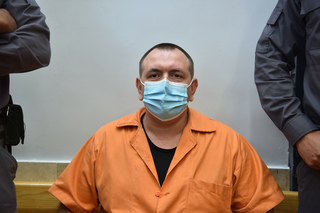 Roman Zadorov at the Nazareth District Court on Tuesday