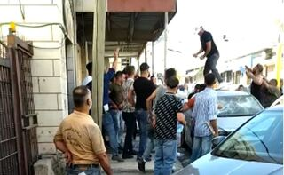 Clan violence in the streets of the West Bank city of Hebron in July