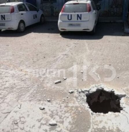 An attack tunnel uncovered in the schoolyard of an UNRWA school in Gaza in June