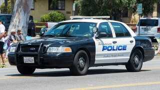 Torrance Police Department vehicle