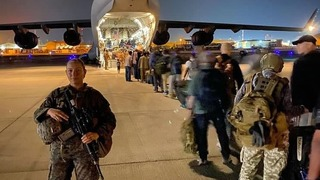 U.S. troops continue evacuation mission from Kabul