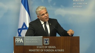 Foreign Minister Yair Lapid