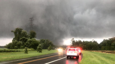 monster tornados moving through New Jersey