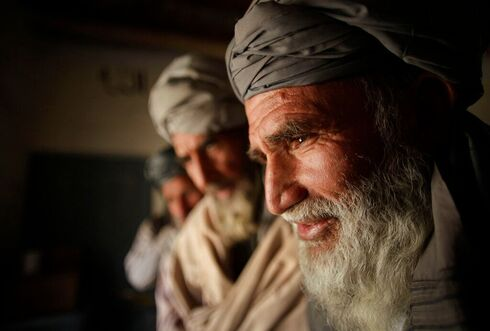 A Pashtun man in Kabul,  Afghanistan in 2010