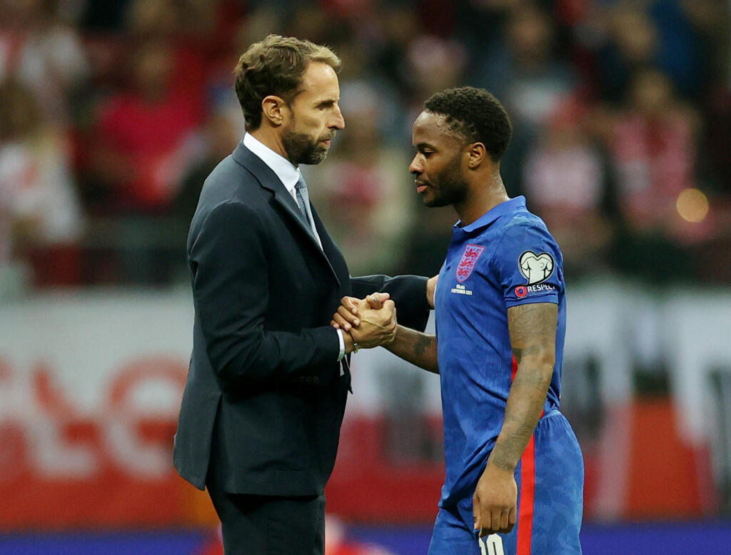 Sterling and Southgate are disappointed at the end