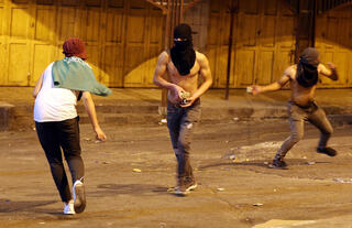 Palestinian rioters hurl rocks at Israeli forces in West Bank city of Hebron