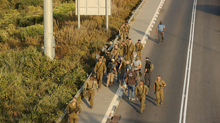 IDF forces search Jezreel Valley on Sunday for two escaped Palestinian prisoners still at large
