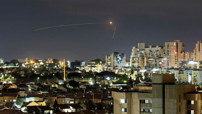 Rocket fired from Gaza intercepted over Sderot on Saturday