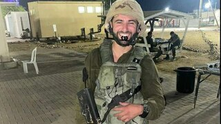 Yoel Levi after enlisting in the IDF