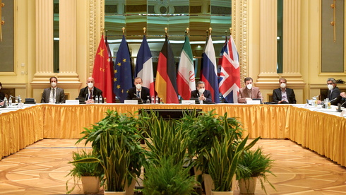 World powers meet in Vienna with Iranian delegation on U.S. return to the 2015 nuclear deal, last April