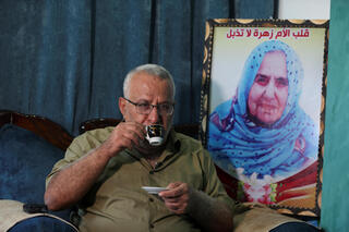 Munir Hamo who will soon be able to unite with his wife and six children for the first time in 14 years after Israel approved his request for family unification